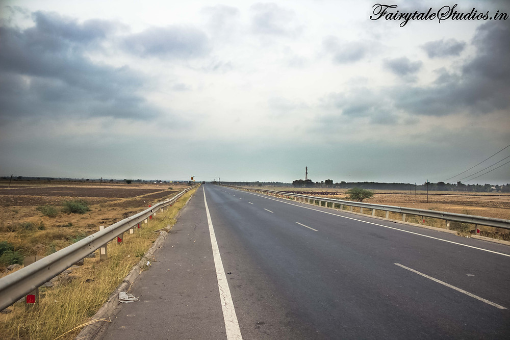 The roads from Hyderabad to Vijayawada are lovely and absolute pleasure to drive