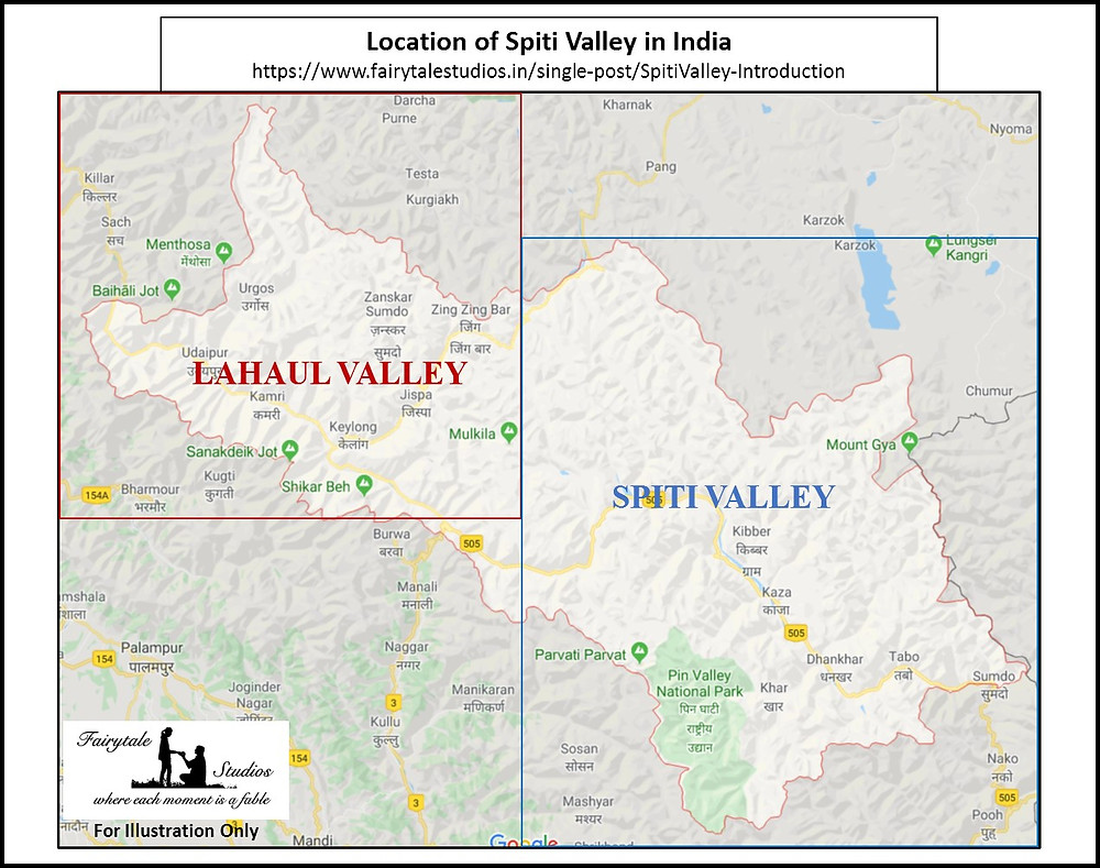 Lahaul valley and Spiti Valley sub-divisions_Introduction to Spiti Valley