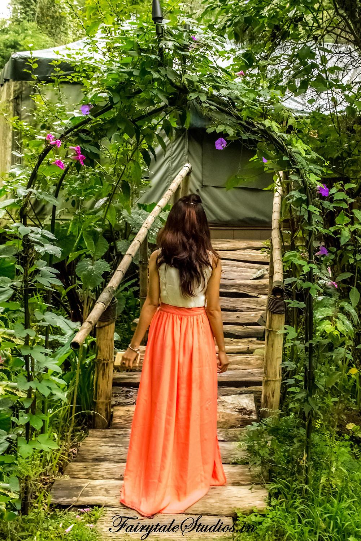 Exploring the honeymoon cottage @The Fern Creek, Kodaikanal, India