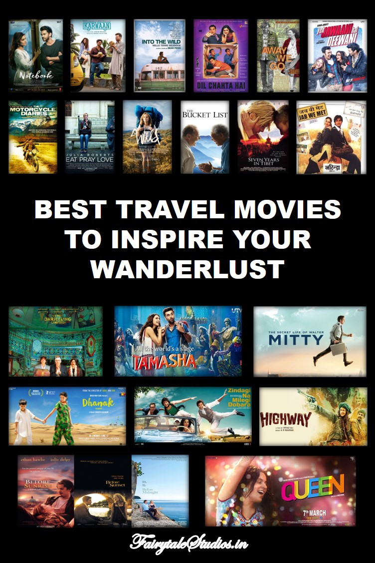 Best travel movies to inspire your wanderlust - Pin this image
