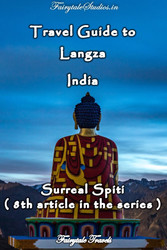 Travel guide to Langza, Spiti Valley - India
