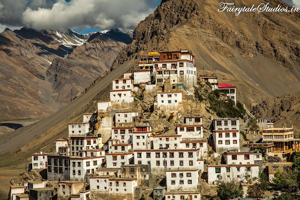 Key Monastery, Spiti Valley - Himachal Pradesh, India