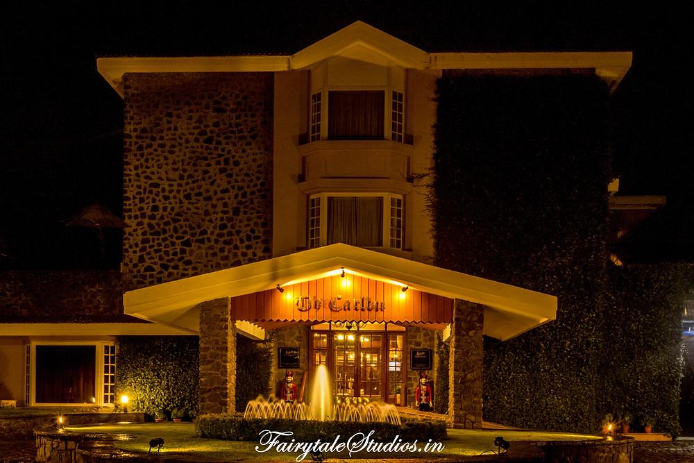 The entrance of the The Carlton, Kodaikanal