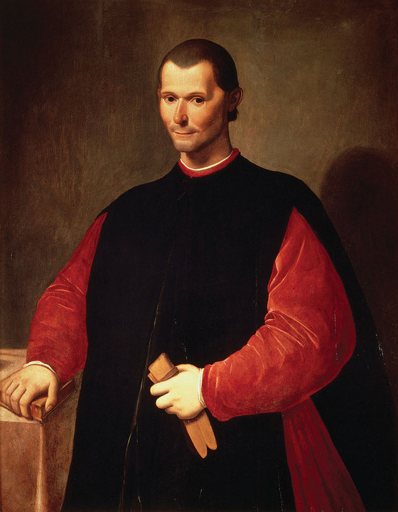 TWO GREAT ITALIANS: BALDASSARE CASTIGLIONE AND NICCOLO' MACHIAVELLI.