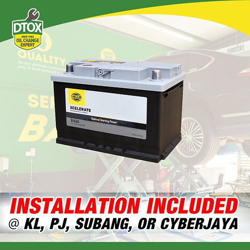 Hella NS40L Maintenance Free Car Battery