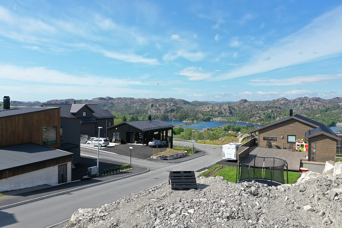 Utsikt fra Krukkeveien 4