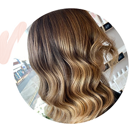 caramel balayage darker hair Tunbridge W