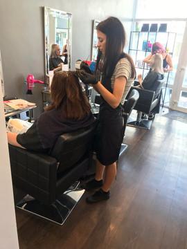 Hairdresser Atlanta at Rosie Baylis hair