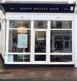 rosie baylis hair hairdressers Tunbridge