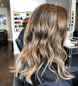 brown balayage sombre ombre babylights r