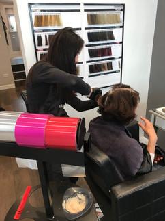Hairstylist Atlanta in Rosie Baylis Hair