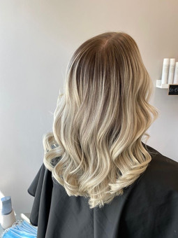 blonde balayage hair Tunbridge Wells Ros