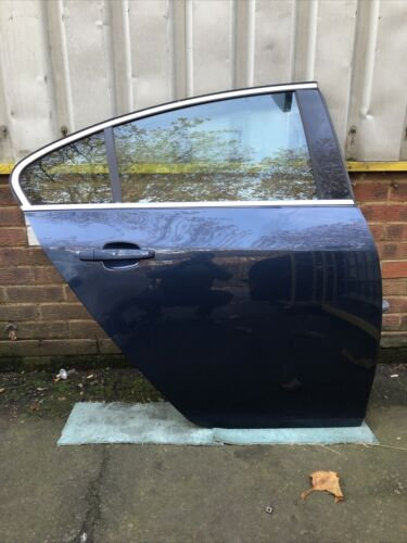 Vauxhall Insignia 2010 Rear Right Driver Side Blue Bare Door Z22A