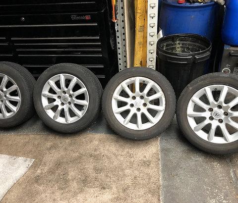 "Vauxhall ZAFIRA ASTRA 16"" ALLOY WHEELS SET ALLOYS & TYRES 205/55R16 2005-2014"
