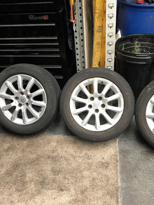 "Vauxhall ZAFIRA ASTRA 16"" ALLOY WHEELS SET ALLOYS & TYRES 205/55R16 2005-2014"