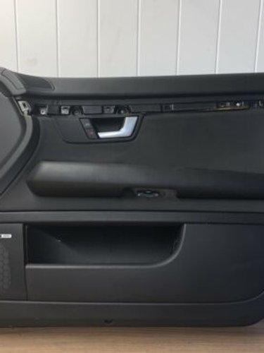 Audi A4 B7 FRONT DRIVER SIDE DOOR CARD IN BLACK  8E2867106