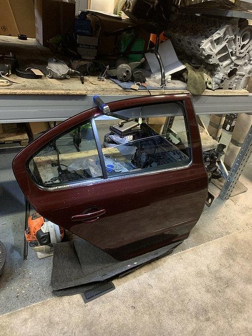 2010 Skoda Octavia Facelift 9893colour 5 Door Hatchback O/S Rear Bare Door