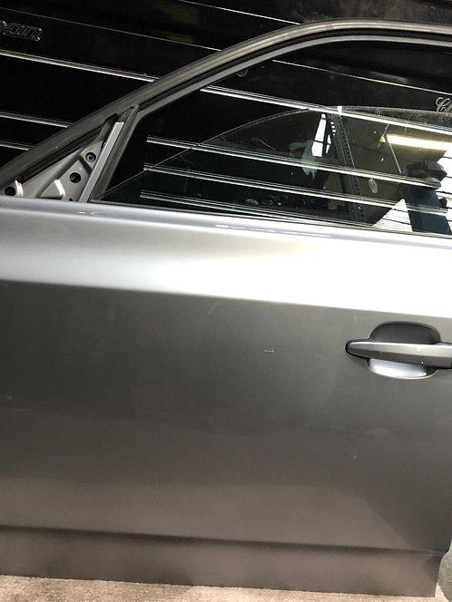 BMW X3 E83 PASSENGER/LEFT FRONT DOOR N/S BARE  Grey A08/7 Colour