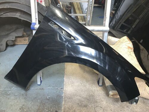 Ford MONDEO MK4 (07-14) 5 DR OSF DRIVERS FRONT WING PANEL IN BLACK G6 COLOUR