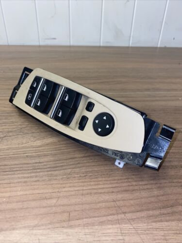 BMW 7 F01 730d 2014 Front Right Door Window Control Switch Panel 9241938