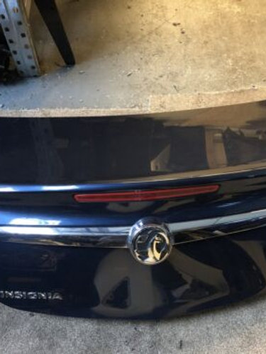 2010 Vauxhall INSIGNIA BOOTLID / TAILGATE IN BLUE Z22A