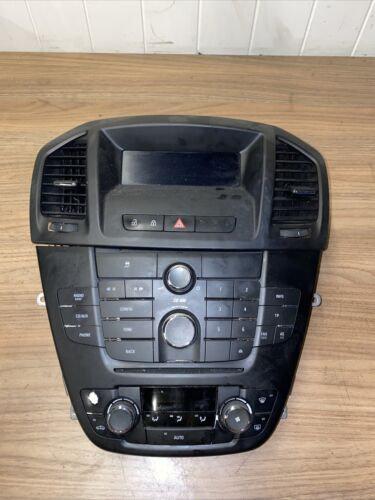 2008-2013 Vauxhall INSIGNIA RADIO CD PLAYER AC CONTROLS DISPLAY SCREEN 12844841G