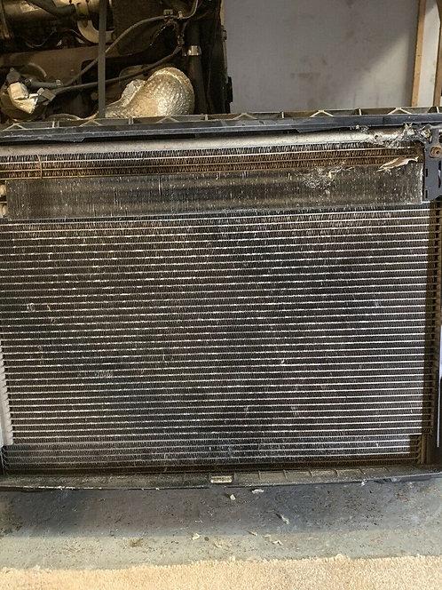 BMW 5 6 E60 E61 E63 E64 545i 645i N62 600W Engine Cooling Radiator Pack Fan