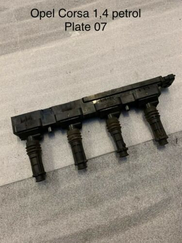 IGNITION COIL PACK Corsa 2007 To 2011 Vauxhall Corsa 1.4 Petrol - 11248879