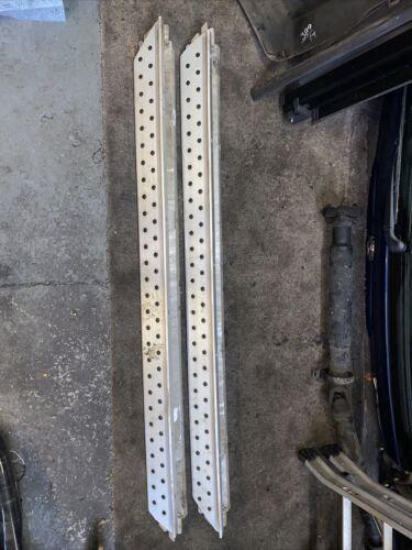 BMW X5 E53 Aluminium Side Steps Foot Plates Left Right N/O/S 8403077 8403078