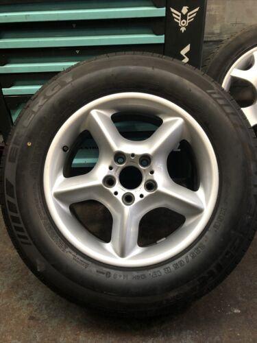 "x1 Genuine BMW X5 E53 17"" Inch Alloy Wheel 6762330 235/65r17 9mm Michelin Tyre"