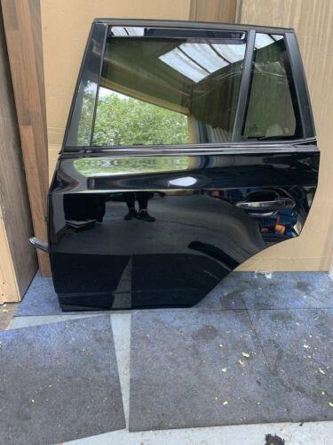 REAR DOOR BMW X3 E83 2003 TO 2010 BLACK  PASSENGERS SIDE 668 COLOUR