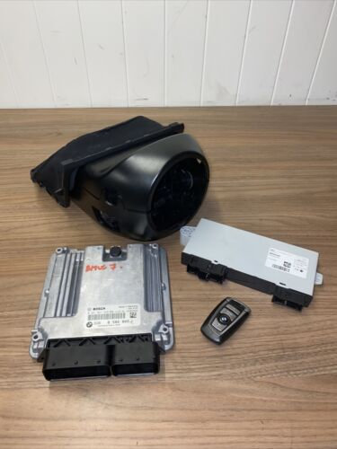 BMW ECU Engine Control Kit 730D DDE 8582802 -01 0281031329 2014