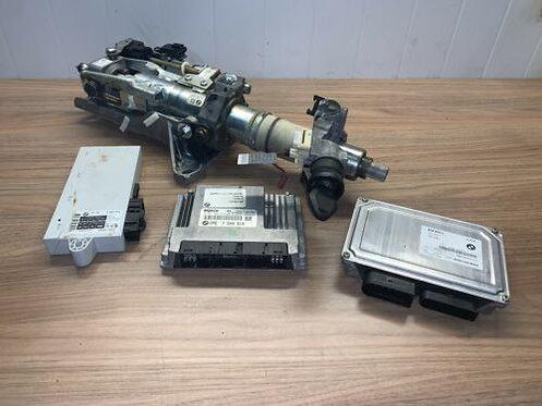 BMW 5 6 Series E60 E63 E64 530i 630i N52 ECU Kit  7555361 Automatic