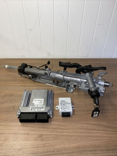 BMW X3 E83 2.0D M47 GENUINE ENGINE ECU KIT WITH ONE KEY 7796571