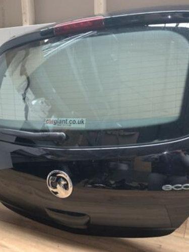 Vauxhall CORSA D MK3 06-14 3DR HATCH BOOT LID TAILGATE BLACK SAPPHIRE Z20R