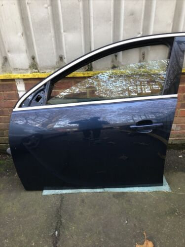 Vauxhall INSIGNIA 2010 NEARSIDE FRONT PASSENGER Bare DOOR N/S Blue Z22A