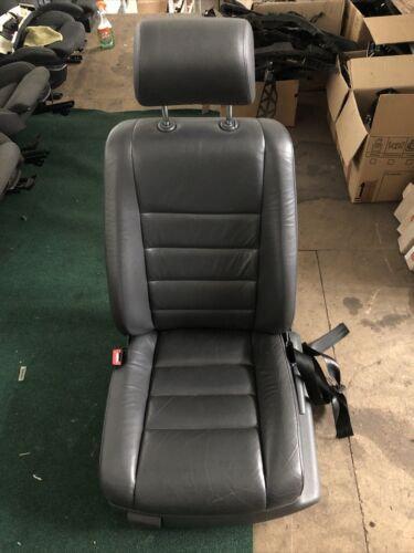 Volkswagen TOUAREG 2002-07 - PASSENGER N/S FRONT LEFT BLACK LEATHER SEAT