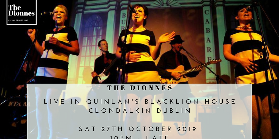 October Bank Holiday Sunday with The Dionnes in Quinlan's