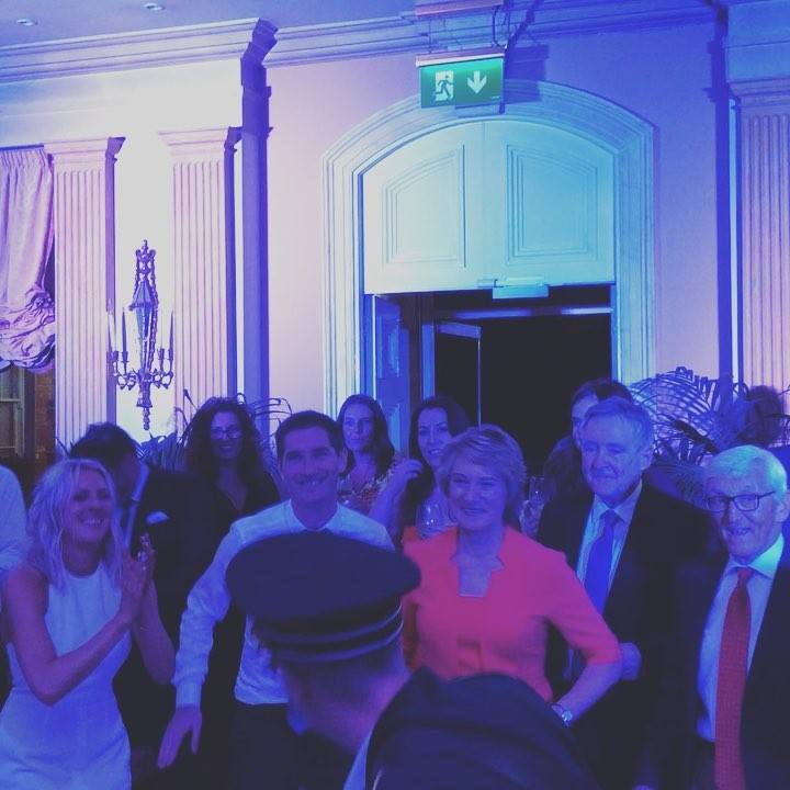 Soulpower hit Marlfield House Hotel & The Duck Restaurant in Gorey.. Captain Atlas takes a walk! #soulpower #irishsoulband #marlfieldhouse #wedding #alternativeweddingband #soul #funk #brass #percussion #arethafranklin