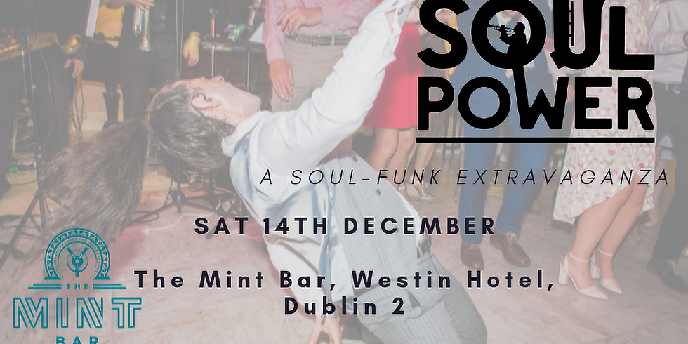 SoulPower live in The Mint Bar