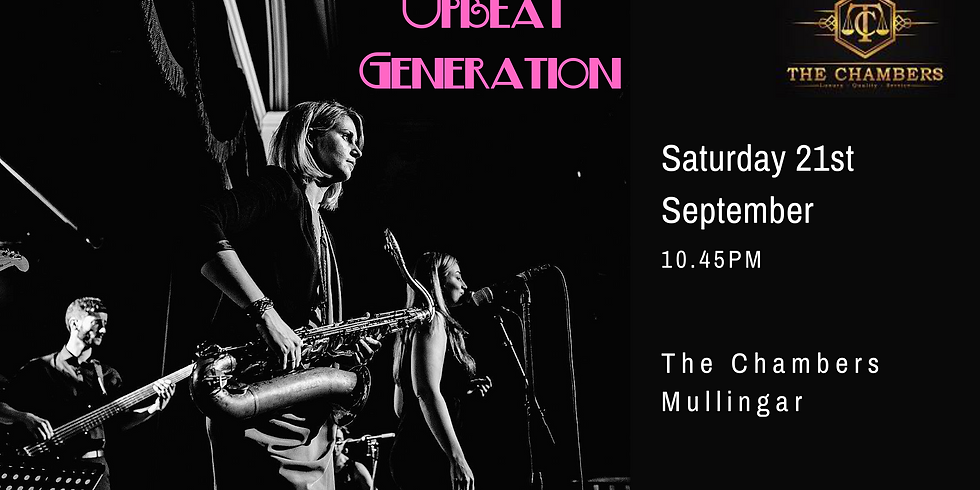 Upbeat Generation live in The Chambers