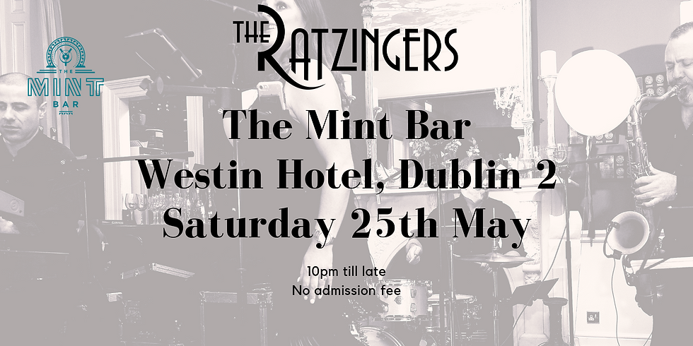 The Ratzingers Live in The Mint Bar