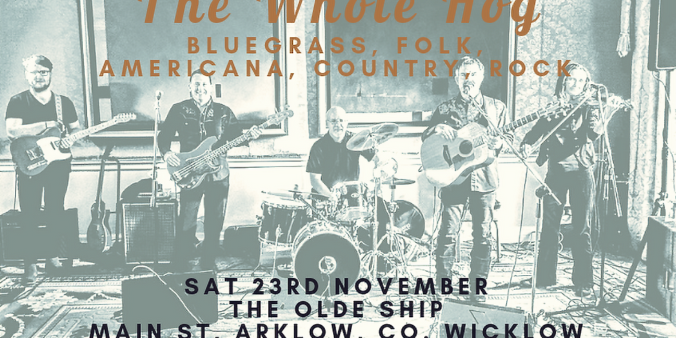 The Whole Hog Band Live in The Olde Ship Arklow