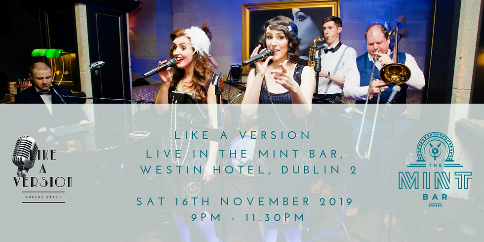 Full Band live in The Mint Bar