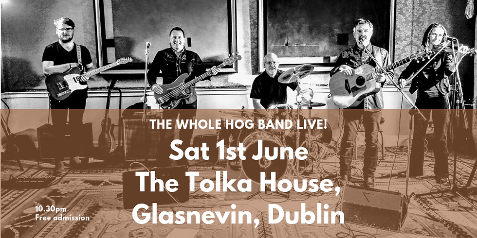 The Whole Hog live in Tolka House