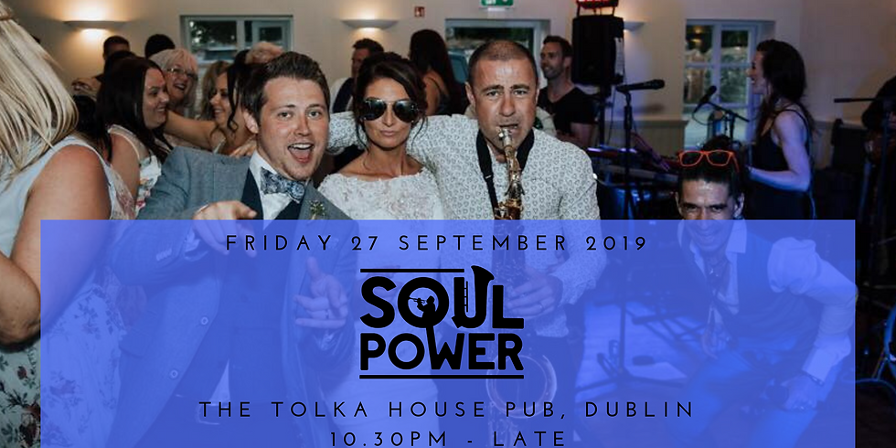 SoulPower live in Tolka House Pub