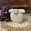 Thumbnail: Milk Glass Ruffle Edge Vase