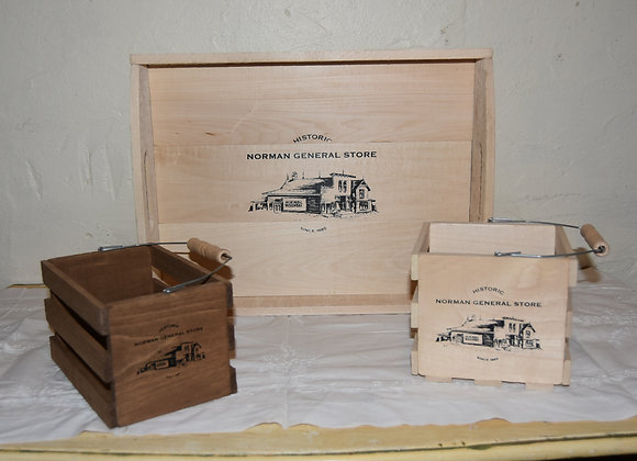 Cheese Boxes, Crate Baskets & More