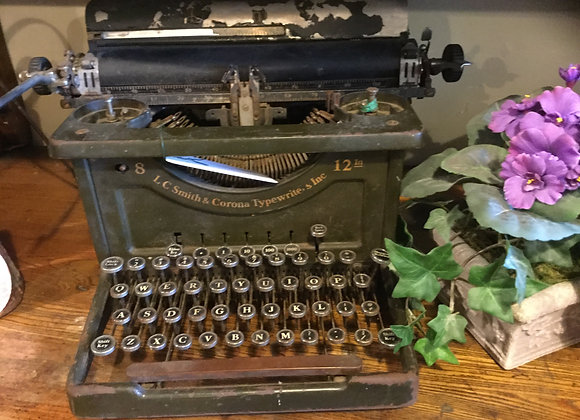 L.C. Smith & Corona Typewriter