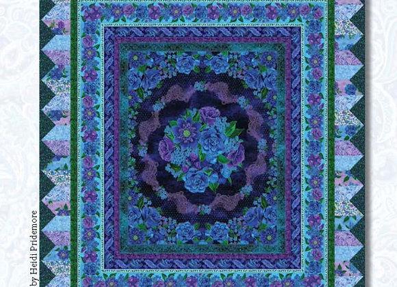 Luna Garden Quilt Top Kit